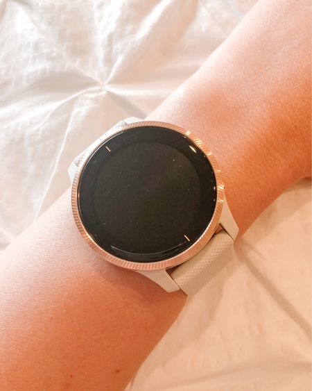 Garmin Venu smart watch! So pretty and feminine and tracks all the things! Oh and it's waterproof!  I just love the rose gold!! http://liketk.it/2OEMD #liketkit @liketoknow.it #LTKfit Follow me on the LIKEtoKNOW.it shopping app to get the product details for this look and others