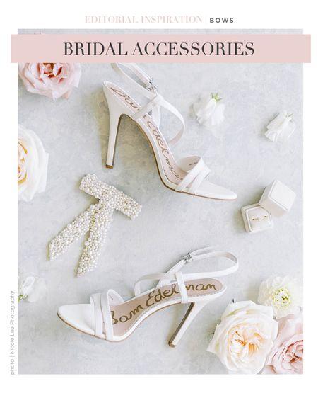 Just add a bow!   #LTKshoecrush #LTKwedding #LTKstyletip