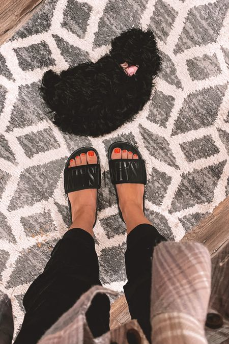 Nsale shoes, pool slides  #LTKshoecrush #LTKstyletip #LTKsalealert