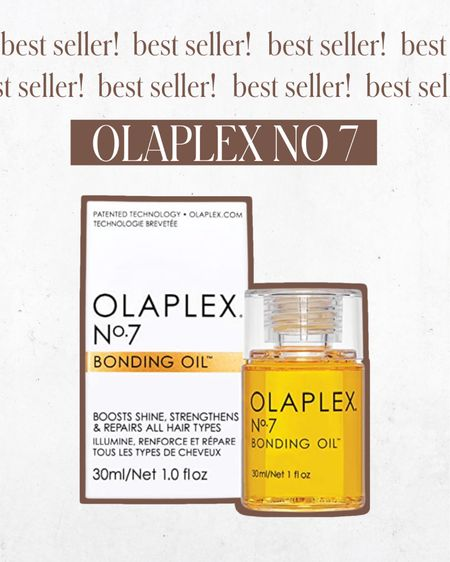 FOLLOWER FAVORITE — Olaplex No 7... of course! I love this bonding oil for helping give my hair an extra bit of shine. Definitely one of my most used beauty products and is worth the price!   #LTKstyletip #LTKbeauty #LTKunder100