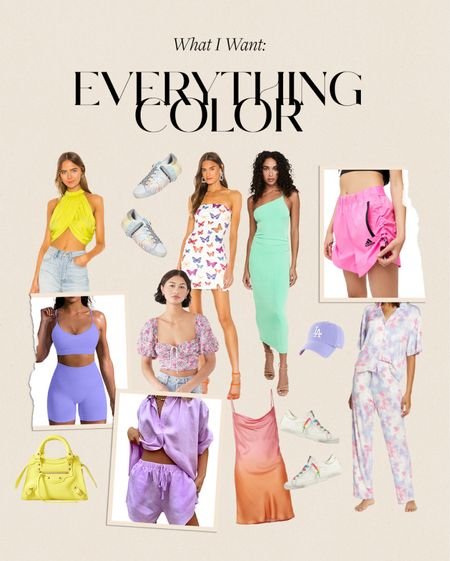 what I want: everything color