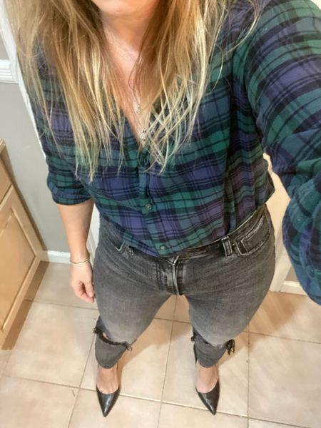 Date night look, these jeans are 20% off   #LTKunder100 #LTKstyletip #LTKsalealert