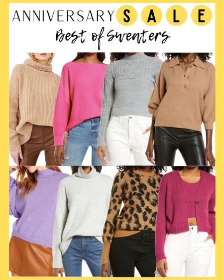 Nordstrom Anniversary Sale: Sweaters  http://liketk.it/3jsNW @liketoknow.it #liketkit