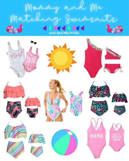 Mommy and Me Matching Swimsuits!☀️💕🌴  Family swimsuits | matching family swimsuits | family matching swimsuits | Mommy and Mini matching swimsuits | Mom and Mini matching swimsuits | Rachel Pitzel | #matching #swimsuits #rachelpitzel #xorachelpitzel #ltksummer #ltktravel #stayhomewithltk #ltksalealert #ltkfamily #lillypulitzer #amazonfashion #amazonfinds @liketoknow.it.family #LTKsalealert #LTKunder100 #LTKunder50 @liketoknow.it #liketkit http://liketk.it/2VrOU