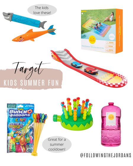 We are ready for summer fun! All of these fun outdoor items can be found at target! The water blob is a HUGE hit! http://liketk.it/3g5sT #liketkit @liketoknow.it #LTKfamily #LTKkids #LTKswim Follow me on the LIKEtoKNOW.it shopping app to get the product details!