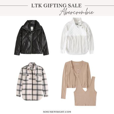 Abercrombie finds!  Gifting sale, fall style, fall outfit inspo   #LTKstyletip #LTKSale #LTKsalealert