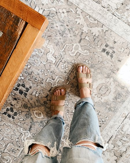 knock off Birkenstocks for the spring/summer season. my favorite shoe that i wear every year!! http://liketk.it/3chX3 #liketkit @liketoknow.it #LTKSpringSale #LTKbeauty #LTKshoecrush @liketoknow.it.home Follow me on the LIKEtoKNOW.it shopping app to get the product details for this look and others