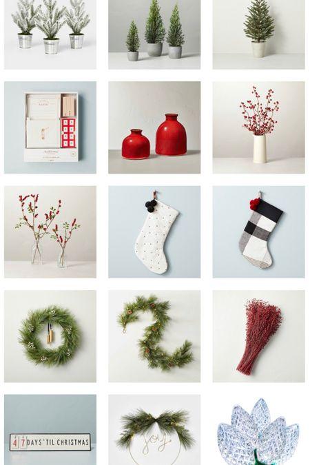 Christmas decor/ holiday decor   #LTKHoliday #LTKunder50 #LTKSeasonal