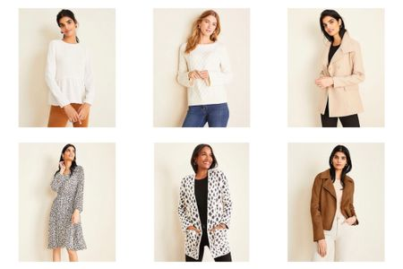There are a lot of new arrivals on Ann Taylor's website and you can get 50% off with the code THANKS1. Update 10/18 - ALL Rewards Loyalty Members can also stack code GOALLin for an extra 15% off which is a combined total savings of 57.5% off retail! This latter promo code ends 10/21 at 3AM ET.  🛍 Shop my sales picks @liketoknow.it http://liketk.it/2FVuI #liketkit #LTKsalealert #LTKunder100 #LTKunder50 #LTKworkwear #thisisann