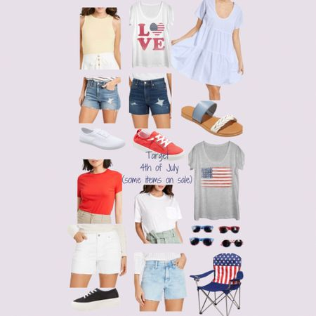 http://liketk.it/3iy02 #liketkit @liketoknow.it #LTKfamily #LTKsalealert #LTKstyletip  Just in time for 4th! Most items ship before the holiday ❤️🤍💙 but for the remaining items you could always pay the extra shipping fee.   Cute summer shorts on sale along with some tees & sneakers. Have fun this 4th and Happy Independence Day!   Price ranges: $6-$70