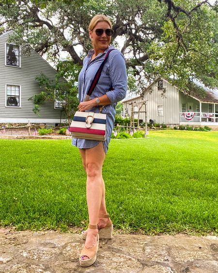 🇺🇸Shop this #4thofjulystyle 👉 http://liketk.it/3iWVD or Shop your screenshot of this pic with the LIKEtoKNOW.it shopping app @liketoknow.it #liketkit #LTKunder100 #LTKstyletip #LTKitbag
