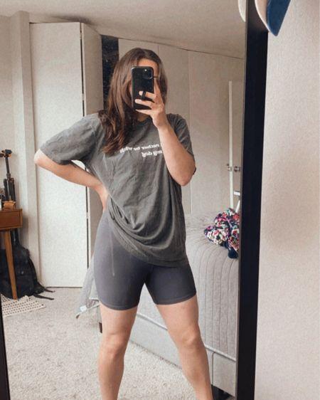 Cozy, monochrome look | bike shorts | loungewear   http://liketk.it/3h4kz @liketoknow.it #liketkit #LTKunder100 #LTKunder50 #LTKstyletip