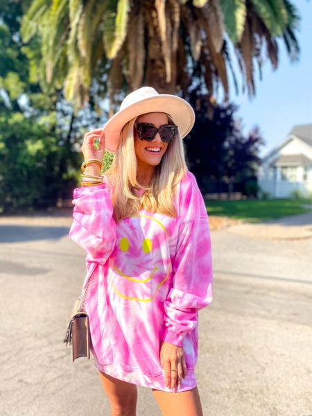 BuddyLove Sweatshirt/ Dress  Oversized: im in a S/M  So so so cozy  15% off code: JANELLEPAIGE   #LTKunder50 #LTKstyletip #LTKunder100