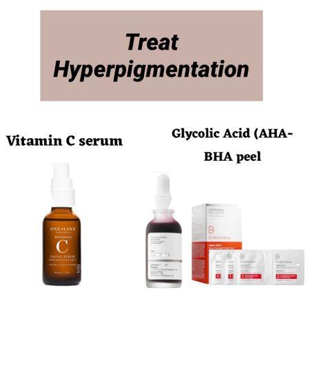 http://liketk.it/3fiN4 #liketkit @liketoknow.it #LTKbeauty #LTKunder100 natural vitamin ac serum, one love organic vitami. c serum, glycolic acid, the organic aha peel, treat  hyperpigmentation, AHA BHA daily peel