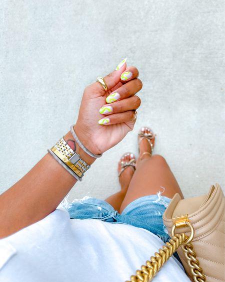 Nails, nails inspo, summer nails, Abercrombie, shorts, casual style, summer outfits http://liketk.it/3hdmq #liketkit @liketoknow.it #LTKDay #LTKbeauty