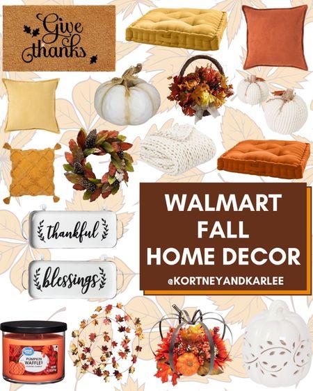 Walmart Fall Home Decor!  Walmart home decor | walmart decor | walmart home finds | walmart home favorites | Walmart home decor favorites | new Walmart home decor | Walmart fall home decor | fall home decor | fall home decor from Walmart | Kortney and Karlee | #Kortneyandkarlee #LTKunder50 #LTKunder100 #LTKsalealert #LTKstyletip #LTKSeasonal #LTKhome @liketoknow.it #liketkit