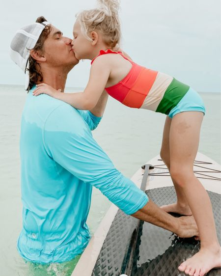 Beach & swim for dad and daughter http://liketk.it/3hwmp #liketkit @liketoknow.it #LTKswim #LTKmens #LTKfamily