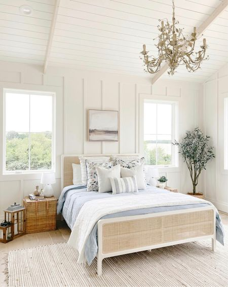 Bedroom decor and furniture, night stands, west elm and pottery barn       #LTKhome