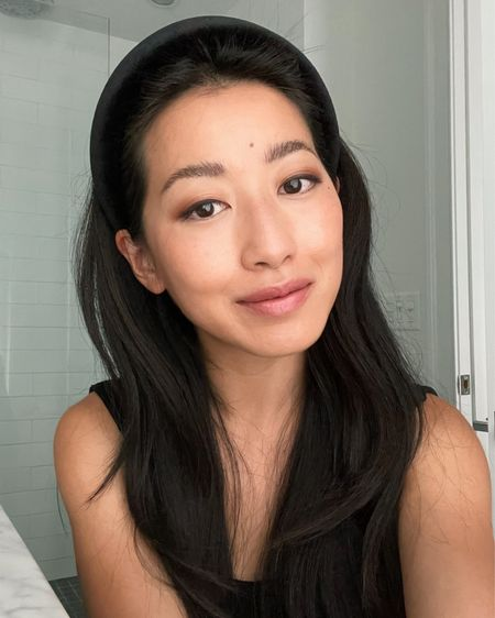 """Summer everyday makeup: ▪️Shade info: For slip tint I am shade 4 right now in the summer and was matched to 3.5 when I haven't been in the sun as much.  ▪️Amazing deal on the saie tinted moisturizer I use. Buy one get one so you can get two shades or two of the same for the price of one plus free ship! Also check out their lip balm and blush. Clean, good for your skin ingredients. sPF 35 via a mineral sunblock, not chemical, but if you're going to be out in the sun for a while be sure to use an additional sunscreen for enough protection. Light, sheer coverage and dewy finish so it doesn't matter if the shade is a little bit off.   ▪️in video I was swatching saie dew blush in poppy. I've also tried """"peachy"""" which is more subtle against my skin tone  ▪️brow wiz pencil set in medium brown. Dark brown could work too but I like just light shading.  ▪️tarte shape tape concealer in medium sand which is creamy and a nice match for my Asian skin with yellow undertones  ▪️illia eyeshadow palette is my longtime favorite for a clean beauty eyeshadow option. I used the warm neutral one here but have also swatched cool neutral and it's beautiful too  ▪️Charlotte tilbury pillow talk lipstick    http://liketk.it/3jZui #liketkit @liketoknow.it #LTKunder50 #LTKbeauty #makeup"""