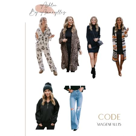 "Ashlee by Amaryllis code ""MAGENFALL15"" fall outfits, cardigan, pullover   #LTKHoliday #LTKunder100 #LTKSeasonal"