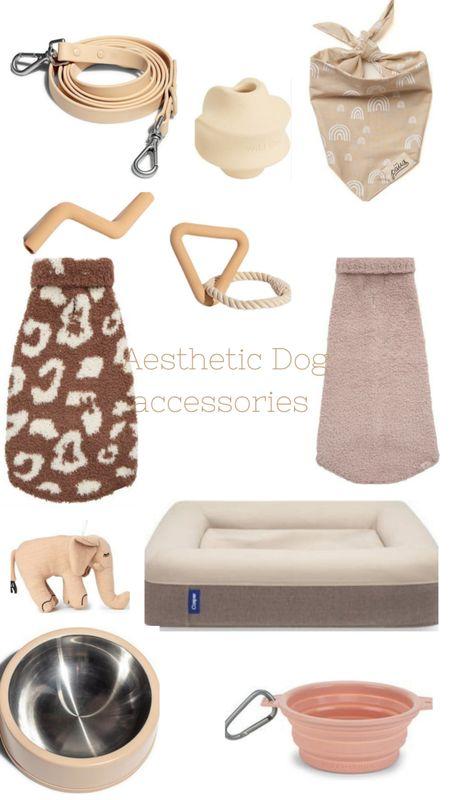 Aesthetic dog accessories 🐕🐶🐕🦺  http://liketk.it/3prvB @liketoknow.it @liketoknow.it.home @liketoknow.it.family #liketkit #LTKGiftGuide #LTKHoliday #LTKSeasonal #LTKbeauty #LTKfamily #LTKfit #LTKhome #LTKitbag #LTKsalealert #LTKstyletip #LTKtravel #LTKunder50 #LTKunder100