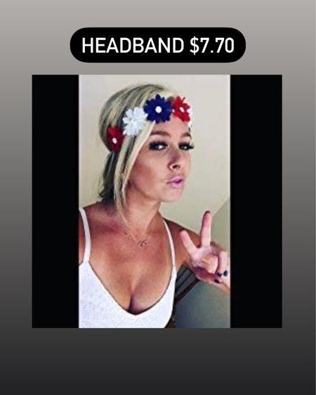 Memorial Day weekend headband / fashion / hairstyles / Amazon finds / red white and blue / flower http://liketk.it/3g7WB #liketkit @liketoknow.it #LTKbeauty #LTKunder50 #LTKstyletip