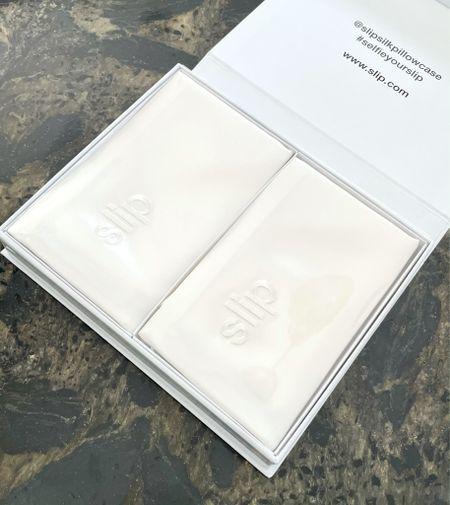 Slip Silk makes the best pillowcases. Great for skin and hair health.   #LTKhome #LTKsalealert #LTKbeauty