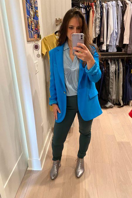 Forest green and royal blue?  Yup! My latest color combo  💙💚  #LTKcurves #LTKstyletip #LTKunder100