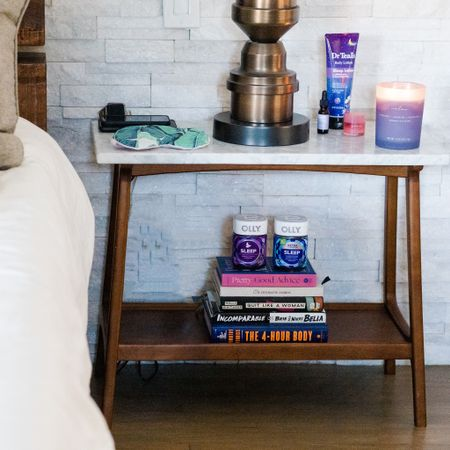 IF THERE'S ONE THING WE TAKE VERY SERIOUSLY AROUND HERE, ITS OUR SLEEP 😴😴😴 #ad // Today on #KERRently, I'm offering up my best tips (as a self-proclaimed sleep expert!) on how to get a better nights' sleep! 🛌🛌 From what I keep on my nightstand 🥽🕯📚to what bath salts I love🛁 to our perfect sleeptytime tea combo  EVERYTHING is available at your local @walmart in their #WalmartWellness hub!  http://liketk.it/35Z0H #liketkit @liketoknow.it #StayHomeWithLTK #LTKhome #LTKunder50 #KERRentlyPampering