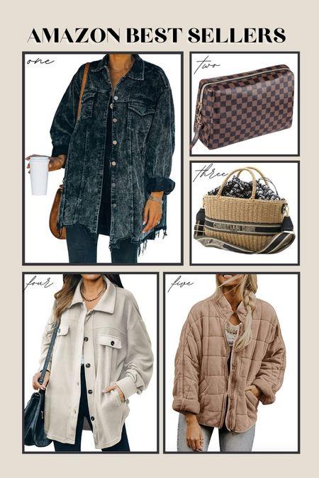Amazon best sellers Fall Outfit, shacket; amazon fashion  #LTKsalealert #LTKstyletip #LTKSale