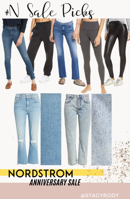 Denim Spanx and Zella leggings! Such great prices! Best time to buy is the NSale Nordstrom sale Size up 2 on the Rag & Bone jeans and I have my true size in Spanx   #LTKsalealert #LTKstyletip #LTKunder100