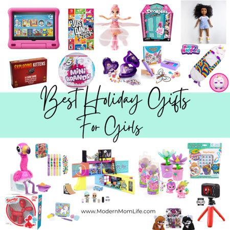 My best holiday gift ideas for girls ages 5-10 are here! Including the hottest toy trends for 2020. I can only feature 16 products so go see the complete list on ModernMomLife.com under 'gift ideas'. Happy shopping! http://liketk.it/323Dy #liketkit @liketoknow.it #LTKkids #LTKfamily #LTKunder50