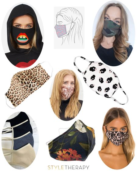 Never did I think I'd probably posting about this! 😷😷😷 Cool(ish) masks & where to get them. http://liketk.it/2N1u7 Shop your screenshot of this pic with the LIKEtoKNOW.it app • • • • •  @liketoknow.it #liketkit #StayHomeWithLTK #LTKstyletip #LTKunder50 #facemask #stopthespread #designermask #quarantine #leopardprint #rainbow #camo #denim