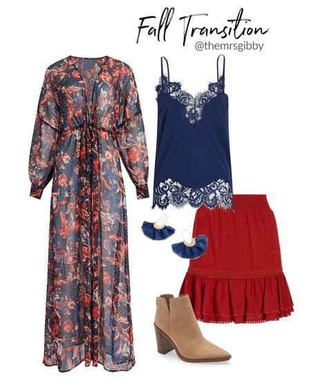 fall transition outfit   #LTKunder100 #LTKshoecrush #LTKunder50
