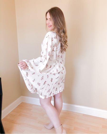 Valentine's Day dresses http://liketk.it/35VoH #liketkit @liketoknow.it #LTKunder50 spring dress, floral dress, white dress