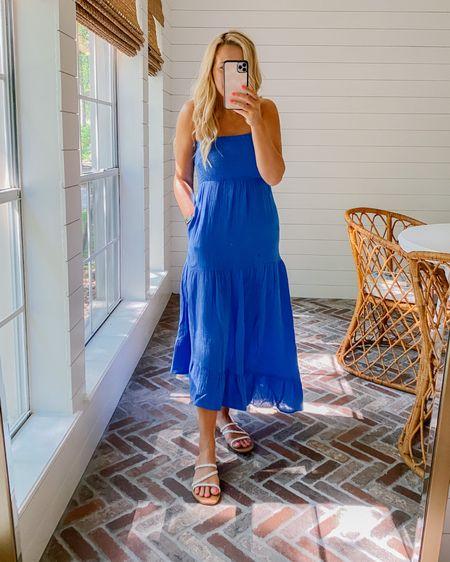 Cutest gauzey dress! Comes in numerous colors! On sale! http://liketk.it/3ibbo #liketkit @liketoknow.it #LTKunder50 #LTKstyletip #LTKsalealert