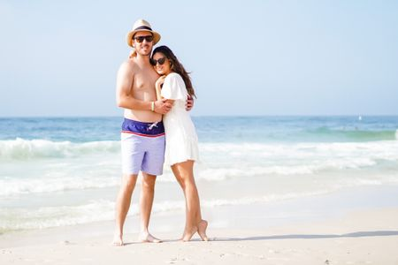 Summer outfit. Beach dress. White dress casual. Beach fedora Panama hat. Heart sunglasses heart sunnies loulou    http://liketk.it/3aLuT #liketkit @liketoknow.it #LTKswim #LTKfamily #LTKtravel