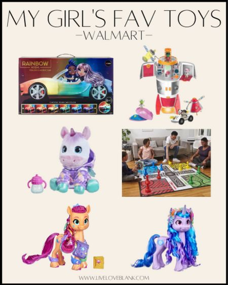 Walmart's top toys for kids chosen by kids for the holidays  Sharing my girls fav from the list and others   #LTKHoliday #LTKGiftGuide #LTKkids