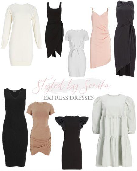 Express dresses http://liketk.it/3hlla #liketkit @liketoknow.it #LTKsalealert #LTKwedding #LTKunder100
