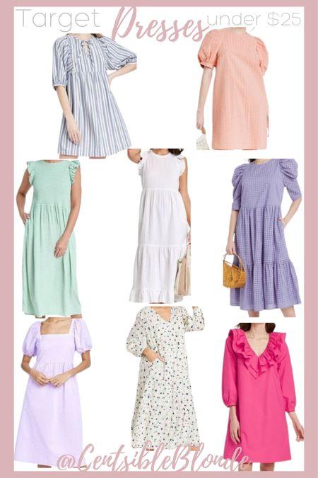 Target dresses under $25, target dress sale, Summer dresses, affordable dresses   http://liketk.it/3i7Kw #liketkit @liketoknow.it #LTKunder50 #LTKsalealert #LTKbaby