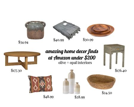 Amazon finds, Amazon at home, California casual decor, home accessories   http://liketk.it/35uQP #liketkit @liketoknow.it