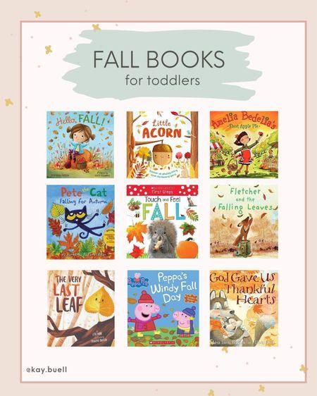 Fun fall books for toddlers!   #LTKSeasonal #LTKkids #LTKfamily