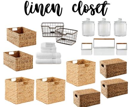 We're right in the middle of our linen closet renovation and I'm planning the shelf organization out. I put together a vision board so I can start planning out what I'll need to buy.  I'm hoping I can get what I need from the stores online since...you know...#quarantine #socialdistancing #liketkit #LTKhome   @liketoknow.it http://liketk.it/2LHTh