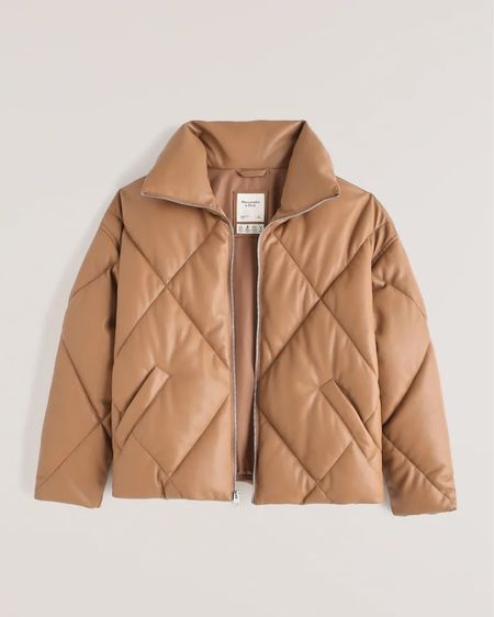 Obsessively love this puffer for fall and winter. Abercrombie new release