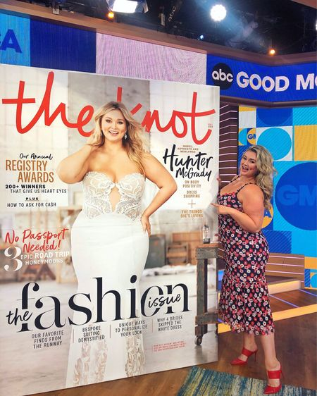 http://liketk.it/2DDPl #liketkit @liketoknow.it The Knot Cover reveal on Good Morning America 🥰