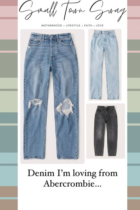 Abercrombie denim + more — 20% OFF last day! . . . .  Floral dress // dress // dresses // midi // maxi // midi dress // summer dress // flowy dresses // Abercrombie// Abercrombie and Fitch // wedding guest dresses // sheer dress // smocked // smocked dress // v neck dress // linen shorts // shorts // short // denim // jeans // jean shorts // denim shorts // linen shorts // flowy shorts // comfy shorts // postpartum styles // breastfeeding friendly // 90s denim // 90s jeans   #LTKsalealert #LTKunder100 #LTKunder50