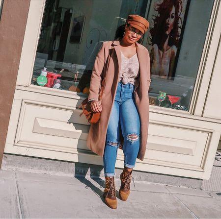 Cool & casual in camel            #LTKunder50 #LTKstyletip #LTKFall