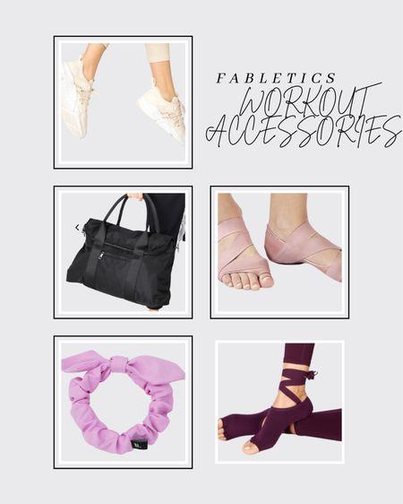 Don't miss the 70% off sale at Fabletics for Memorial Weekend! Here are a few accessories on sale. #fabletic #gymbag #gymtote #dufflebag #ballet #headband #barre #yoga #ltkfitness #ltkmoms #ltkblogger  #LTKcurves #LTKsalealert #LTKfit