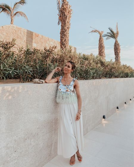 The perfect summer nights top with all the personality! Love this sequin top and it's under $60 http://liketk.it/3dsRt #liketkit @liketoknow.it #LTKunder50 #LTKstyletip