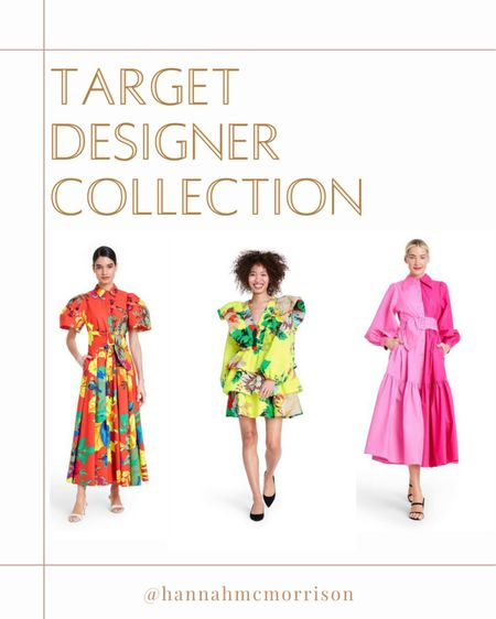 The Target Designer Collection is HERE and as amazing as I hoped it would be. 🤩 Think very playful, colorful, chic. I see a lot of @blaireadiebee and @juliaberolzheimer inspo   #LTKSeasonal #LTKunder100